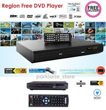 Region Free DVD Player UNLOCKED with Remote Control HDMI USBMulti Region CD Disc