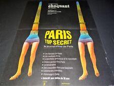 PARIS SECRET ! affiche cinema 1965
