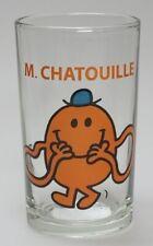 - TRP3766 - Lot de 6 Verres Monsieur Madame -  Mr.CHATOUILLE Dimensions 6 x 10,5