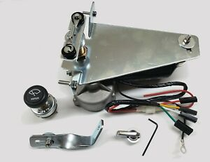 12V Wiper Motor Kit Replaces Original Vacuum unit fits 1947 - 1953 Chevy Trucks