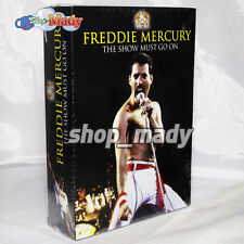 Box Set Freddie Mercury The Show Must Go On - 3 Dvds Región 1 y 4 New!