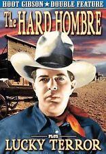 HOOT GIBSON DOUBLE FEATURE - HARD HOMBRE/LUCKY TERROR NEW DVD