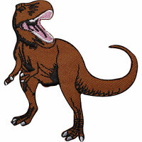 Dinosaur Embroidered Iron / Sew On Patch Kids T Shirt Jeans Jacket Cap Hat Badge