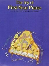 book libro The joy of first year piano by Denes Agay learn piano