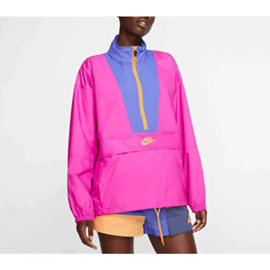 Nike Women's Icon Clash Jacket Fire Pink CJ2289-601 Size L