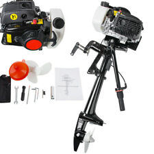 4 Stroke 3.6 HP Outboard Motor 55CC Boat Engine With Air Cooling System US 2018
