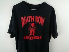 death row records shirt xxl 2xl black