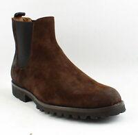 Frye Mens Edwin Dark Brown Ankle Boots Size 13 (1159946)