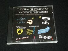 ANDREW LLOYD WEBBER<>THE PREMIERE COLLECTION <>Canada Cd ~MCA MCAD-6284 (1978)