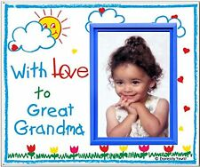 With Love to Great Grandma! - Picture Frame Gift, New, Free Shipping