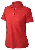 Devon & Jones Women's 100% Cotton Short Sleeve Pique Polo Shirt. D153WGR