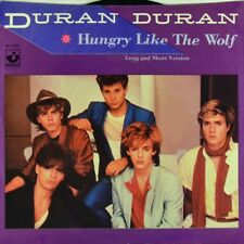 "7"" DURAN DURAN Hungry Like The Wolf (Long & Short Version) HARVEST US-Press 1982"