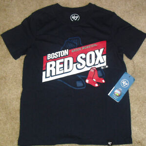 Boston Red Sox Green Monster Kids Youth 47 Brand T-Shirt sz Small New Mlb