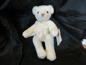 Vermont Teddy Company White Bear 1994 12 inches long