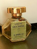 Vintage Crepe De Chine Beauty Oil Miniature Paris France