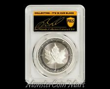 2019 Proof Silver Maple Leaf PCGS PR70 FDOI - Pride of Two Nations - POP 17