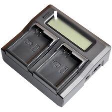 LCD Dual Battery Charger for Nikon EN-EL15 D7100 D7000 D600 D610 D750 D800E D500