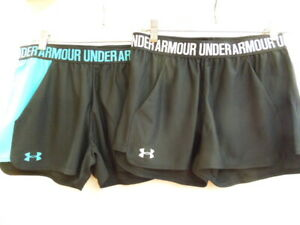 NEW - WOMEN'S UNDER ARMOUR PLAY UP SHORTS, ASST SIZES & COLORS, #1292231  $21.25