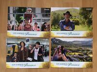 Aushangfotos * 4 AHFs * Ein Sommer in der Provence * 2014 * Regie: Rose Bosch