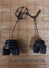 Poulan Pro Gas Fuel Oil Cap Set Chainsaw 952044640 530057236 577858501 NEW