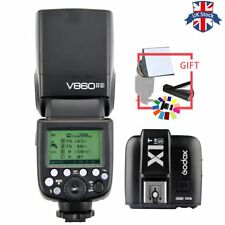 UK Godox V860II TTL HSS 2.4G Flash Speedlite+X1T-S Transmitter for Sony+gift