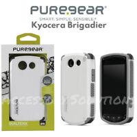 PureGear Kyocera Brigadier E6782 Dualtek Extreme Case Tough Cover White, 60866PG