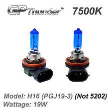 GP Thunder 7500K H16 19W Super White Xenon Light Bulbs Pair (H16 OSRAM 64219)