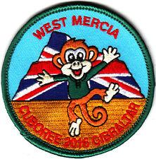 Boy Scout Badge 2016 CUBS 100 West Mercia in GIBRALTAR