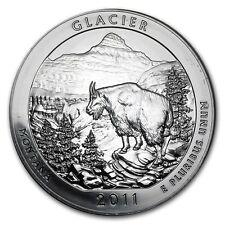 2011 5 oz .999 Silver America the Beautiful Montana Glacier