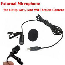External Mic Microphone for GitUp Git1/Git2 WiFi Sports Action Camera Video Cam