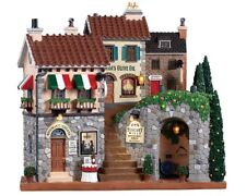 Lemax /85320/ Tuscany Collines Illuminé Façade LED Village de Noël