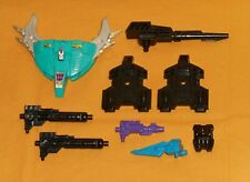 original G1 Transformers PIRANACON PARTS WEAPONS LOT #30 shield guns connectors