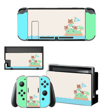Nintendo Switch Skin Decals Stickers Wrap Cover Vinyl Animal Crossing Cute US