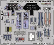 Eduard Zoom FE470 1/48 North-American F-100C Super Sabre Trumpeter