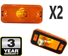 2X FOR BOXER DUCATO RELAY IVECO DAILY SIDE MARKER LIGHT LAMP WITH BULB HOLDER