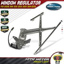Window Regulator W/ Motor for Dodge Ram 1500 2500 3500 94-02 Front Left 741-753