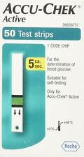 Roche ACCU-CHEK Active Diabetic Test Strips - 50pcs (Expiry Date : 1/2021)