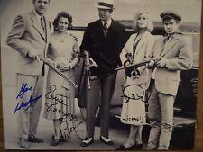 Gene Hackman Warren Beatty Dunaway Pollard Bonnie and Clyde signed Photo PSA