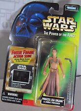 PRINESS LEIA ORGANA Star Wars Return o/t Jedi Figure JABBA's PRISONER NEW POTF2