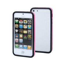 Fundas y carcasas bumper de color principal rosa de silicona/goma para teléfonos móviles y PDAs