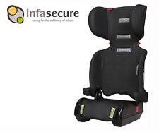 Infa Secure Versatile Folding Booster Car Seat 4-8 years Kid Child Infant Black
