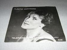 PLASTIC BERTRAND 45 TOURS PORTUGAL STOP OU ENCORE