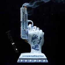 Garden Décor Neighborhood Chamber Blue Pistol Nbhd Ceramics Incense Burner