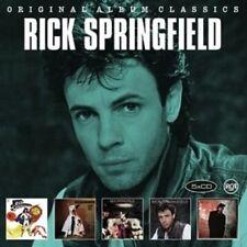 RICK SPRINGFIELD - ORIGINAL ALBUM CLASSICS 5 CD NEW!