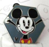 Mickey Mouse Hexagon Shapes 2019 Hidden Mickey Disney Pin 135801
