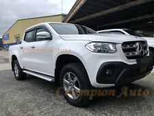To Fit 2018+ Mercedes Benz X Class Double Cab Side Steps Running Boards (S6)