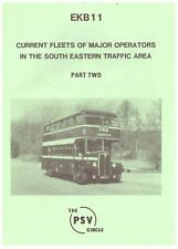 EKB11 CURRENT FLEETS MAJOR BUS OPERATORS SOUTH EASTERN AREA 2 PSV CIRCLE 1990