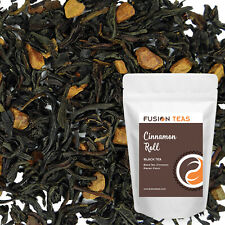 Cinnamon Roll Black Tea - Premium Loose Leaf Blend - Fusion Teas