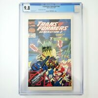 Transformers: Generation 2 nn CGC 9.8 NM/M 🔥 1993 Halloween Special 🔥 RARE HTF