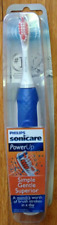 SONICARE Power Up Battery Powered Toothbrush Brush HX3631/02 Blue Sonic Care NEW